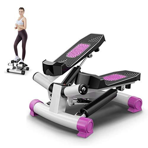 HSART Fitness Übungsgerät Mini 2-in-1 Stepper Beine Schritttrainer mit Widerstandsbändern, Körper-, Arm- und Oberschenkel-Trainer, Ganzkörpertraining (Installation frei)