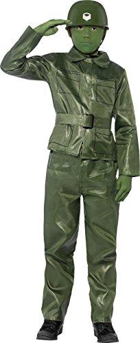 Smiffys Kinder Toy Soldier Kostüm, Oberteil, Hose, Gürtel und Helm, Größe: M, 25481