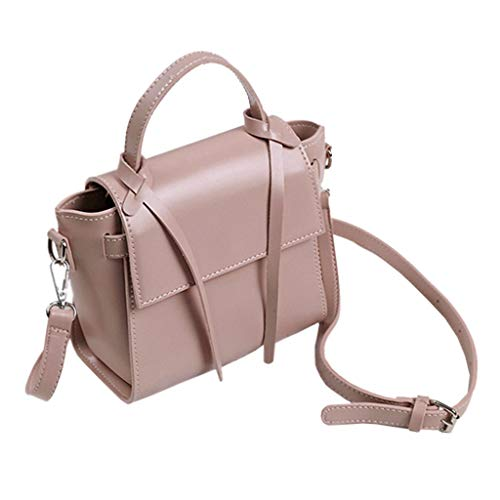 Top Design Fashion Woman Sac À Main Souple Sacs À Bandoulière Crossbody Bag Wallet (Couleur : Pink)