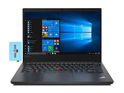 Lenovo ThinkPad E14 Home and Business Laptop (Intel i7-10510U 4-Core, 32GB RAM, 1TB PCIe SSD, Intel UHD, 14.0' Full HD (1920x1080), Fingerprint, WiFi, Bluetooth, Webcam, Win 10 Pro) with Hub