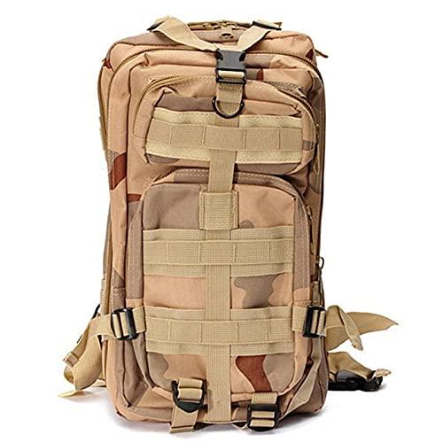NC Mochila táctica Militar para Hombre, Mochila de Camuflaje para Deportes al Aire Libre, Senderismo, Camping, Caza, Viaje, Senderismo, Mochila