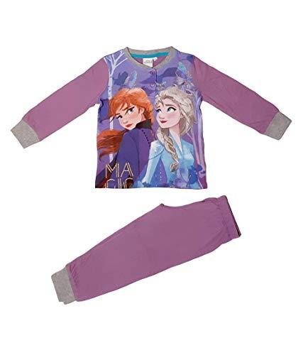 Frozen - Die Eiskönigin Pyjama (lila, 98)