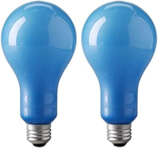 Eiko EBW 120v/500w Blue Inside Frosted Ps-25 E26 Base Photoflood Bulb 2-bulb