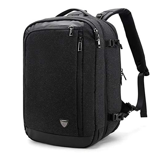Mochila Disassemble Multifunction Waterproof Laptop Backpack, 17 Inch Travel Rucksack Business Male Bag 20Inches Black