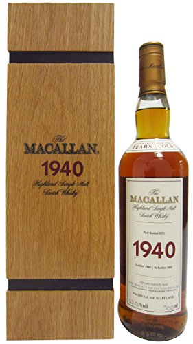 Macallan - Fine & Rare - 1940 35 year old Whisky