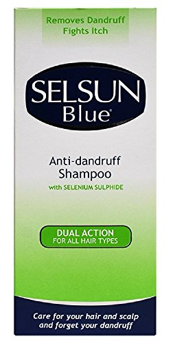 SELSUN Blue DUAL ACTION Best Anti-Dandruff Shampoo For All Hair Types