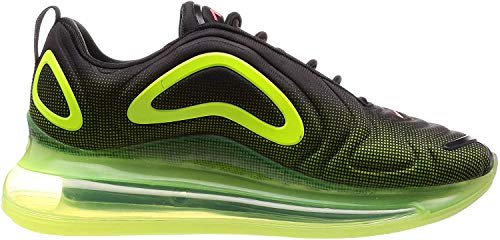 Nike Air MAX 720, Zapatillas de Atletismo para Hombre, Multicolor (Black/Bright Crimson/Volt 000), 42.5 EU