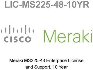 LIC-MS225-48-10YR Enterprise Meraki License for MS225-48 10 Year