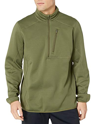 Under Armour Men's Storm TAC 1/4 Zip, Marine Od Green /Marine Od Green, XX-Large