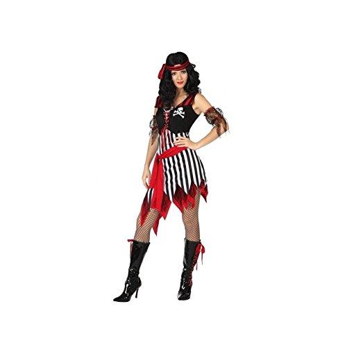 ATOSA disfraz pirata mujer adulto calavera M