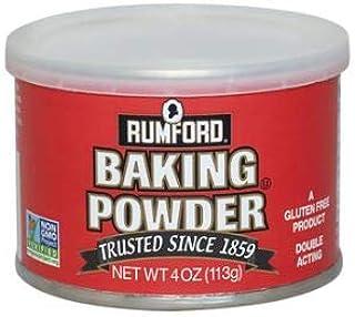 Rumford Baking Powder 4 Oz (Pack of 6)