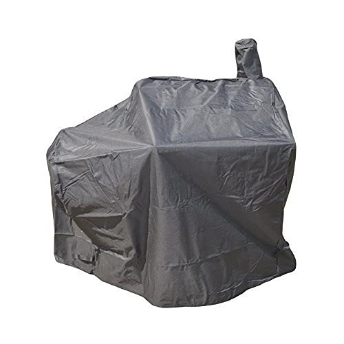DRULINE Abdeckplane für Smoker 90kg XL Abdeckung Abdeckhaube Wetterschutz Grill Schutz