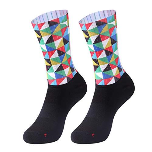 Anti Slip Seamless Cycling Socks Integral Moulding Bike Sock Compression Bicycle Outdoor Running Sport Socks