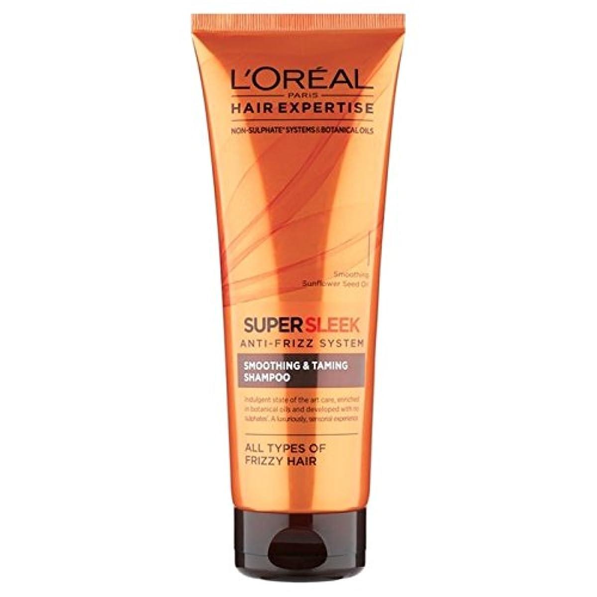 厚さそっとペンダントL'Oreal Hair Expertise EverSleek Intensive Nourish Shampoo 250ml - ロレアルの髪の専門知識集中的ナリッシュシャンプー250ミリリットル [並行輸入品]