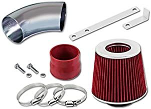 Velocity Concepts Red Short Ram Air Intake Kit + Filter 05-10 Pontiac G6 All Model with 3.5L/3.6L/3.9L V6 Engine