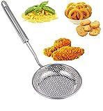 UPKOCH - Espumadera de Acero Inoxidable con Mango ergonómico para Cocina