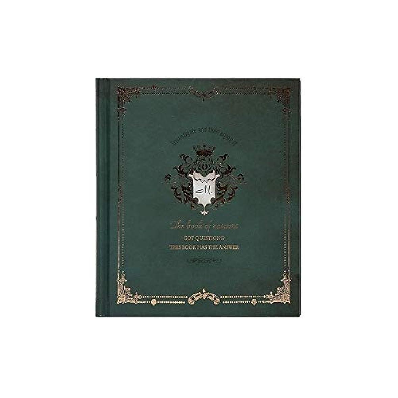 精神医学余分なまたはノート ノートブックジャーナルビジネス学生文房具生活ノートブック日記帳ギフトメモ帳ハードカバー5.8x6.8 ' メモ帳 (Color : Green)