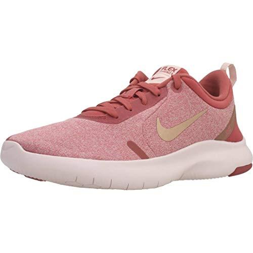 Nike Women's Flex Experience Run 8 Shoe, Light Redwood/Metallic Red Bronze-Echo Pink, 9.5 Regular US