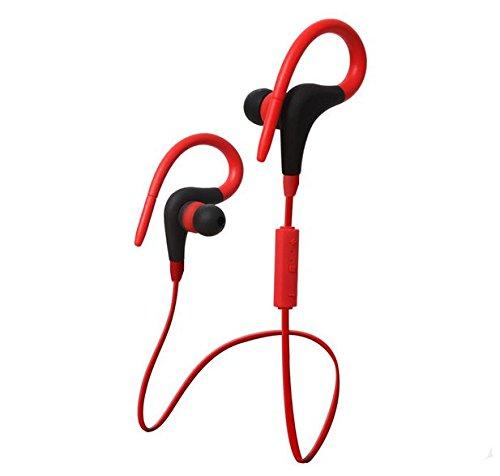 Saxonia Auricolare Bluetooth Cuffia Stereo Headset In-Ear Sport con microfono
