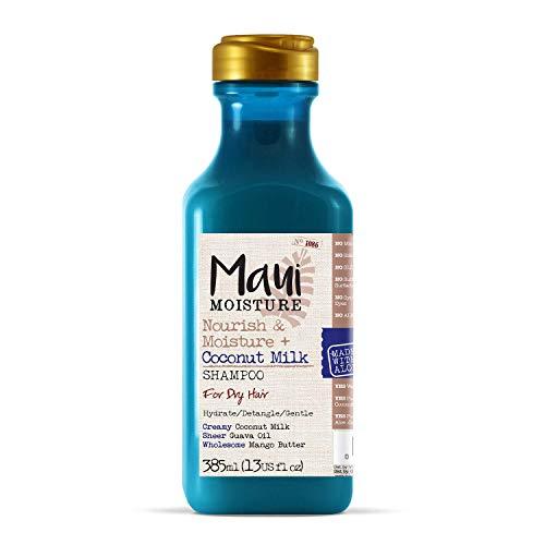 Maui Moisture Vegan Shampoo for Dry Hair, Coconut & Aloe Vera, 385 ml