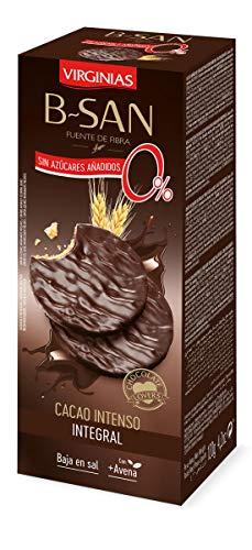 Galleta Virginias B-San Chocolate Nege 70% Sin Azúcares Añadidos 130 G