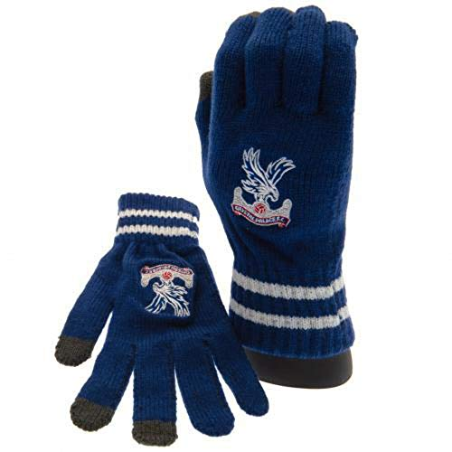 Crystal Palace Knitted Gloves - Royal (Touchscreen Compatible)