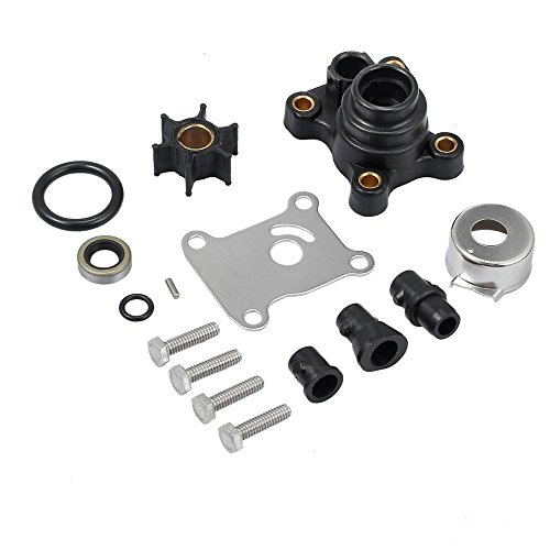 Createshao Outboard Water Pump Kit for Johnson Evinrude 1974-UP 9.9-15 HP OEM 394711 18-3327 386697 391698 389112 387610