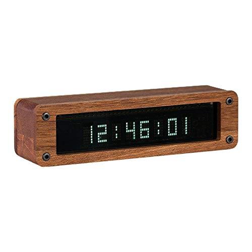 Fransande - Reloj retro VFD, tubo de visualización fluorescente, al vacío