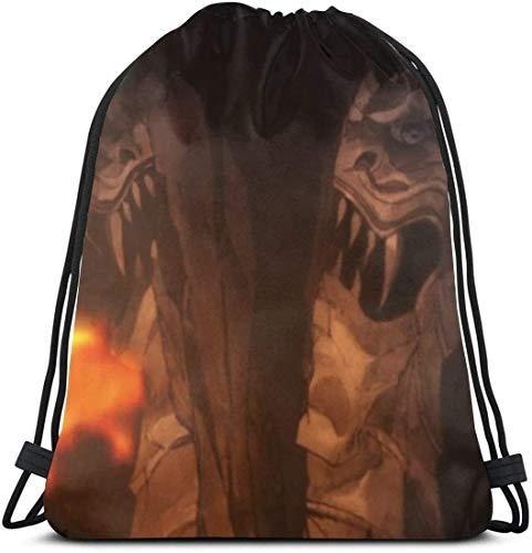 Nagisa Furukawa Clannad 10 Drawstring Bags Sport Gym Bapas Storage Goodie Cinch Bag