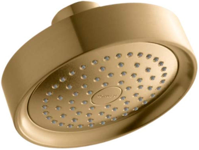 Kohler 939-BGD Single-Function Showerhead, Brushed gold
