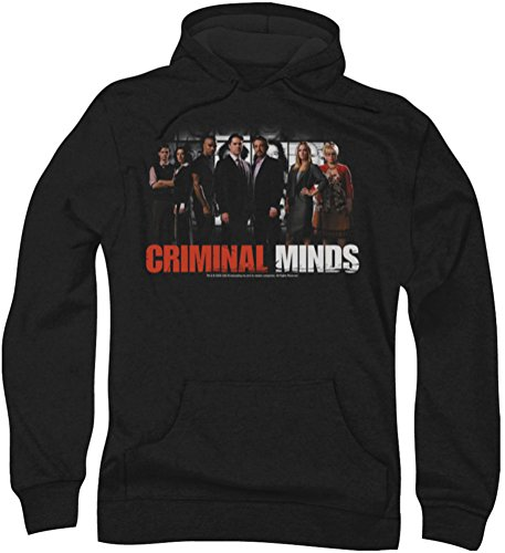 Criminal Minds - Herren Die Brain Trust Hoodie, X-Large, Black