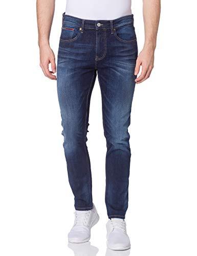 Tommy Jeans Herren Austin Slim TPRD CNDS Hose, Canyon Db STR, W34 / L30
