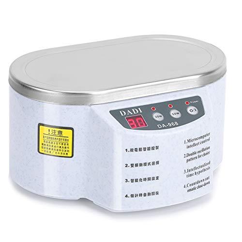 Ultraschallreinigungsgerät Ultraschallreiniger 600ml, 50W Ultraschallgerät Ultraschallbad Ultrasonic Cleaner mit Digitalanzeige für Brillen Schmuck Uhr 40.000 Hz