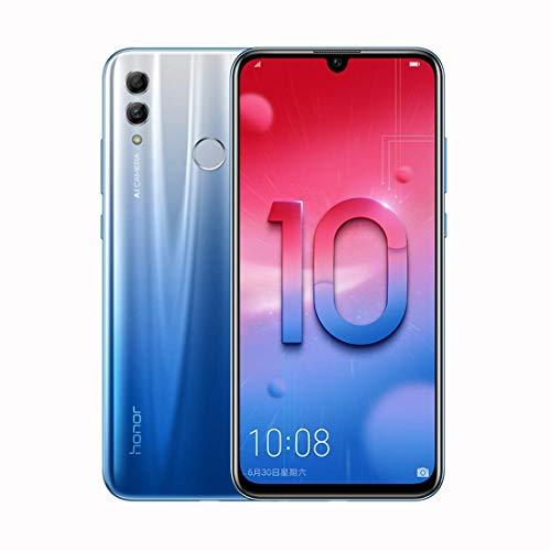 Honor 10 Lite - Smartphone de 3 GB de RAM, 64 GB de ROM, pantalla de 6,21 pulgadas FHD+, cámara trasera de 13 + 2 MP, cámara frontal de 24 MP, Dual SIM, azul cielo