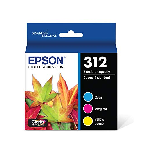 EPSON T312 Claria Photo HD Ink Standard Capacity (T312923-S) for select Epson Expression Photo Printers