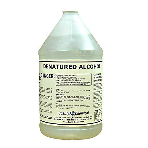 Denatured Alcohol 190, 1 Gallon (128 oz.)