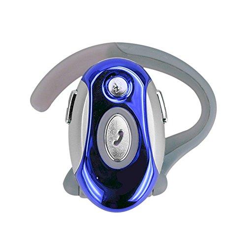 Baalaa Auriculares de manos libres de negocios plegables para 6, 6 Plus, 5S, 5C, 5, 4S, 4, 1, 2, 3, 4, S3, S4, S5, Note 4, Note 3, Note 2, One M7, M8, azul