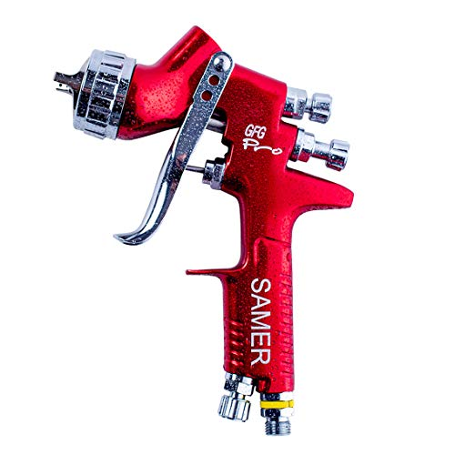HVLP Spray Gun GFG Pro Professional Car Paint Gun Gravity Type 1.3mm Nozzle...