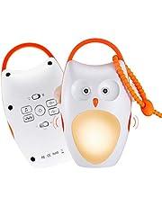 SOAIY 睡眠誘導マシン 寝かしつけ用おもちゃ すやすやメロディ ベッドサイドランプ おやすみフクロウ 赤ちゃん ベビー 出産祝い 誕生日 ギフト プレゼント