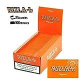 Boite de 25 Paquets de Papier à rouler Rizla Original