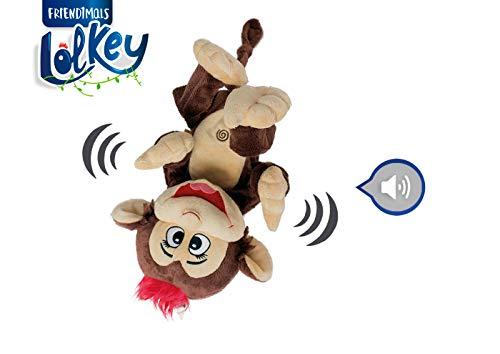 Chicos Friendimals Lolkey mono peluche interactivo