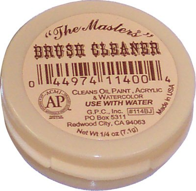 Masters Travel Size Brush Cleaner .25 Oz