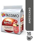 Tassimo Coffee Selection - Kenco Americano/Costa Americano/Costa Latte/Cadbury s Hot Chocolate/Milk Creamer - 5 Packs (48 Servings)
