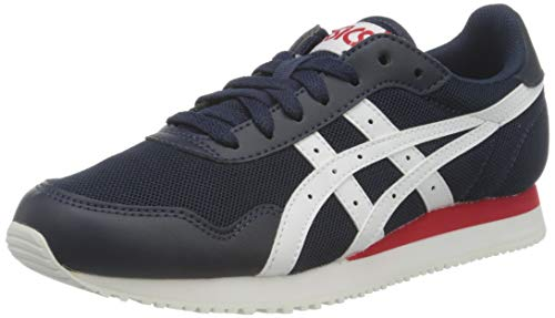 ASICS Herren Tiger Runner Sneaker, Midnight/White, 45 EU
