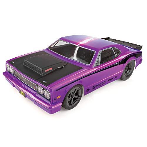 Team Associated DR10 Drag Race Car RTR: Purple, ASC70028