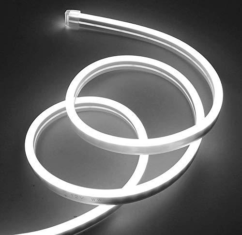 TID LED - Tira Neon LED 12V 5metros 12 * 6mm SMD 2835 Epistar (Rojo)