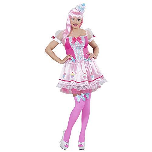 WIDMANN Disfraz de Cupcake Rosa Mujer - S , color/modelo surtido