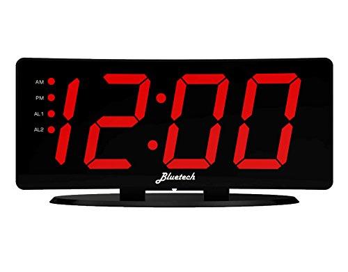 despertador 2 alarmas fabricante Bluetech