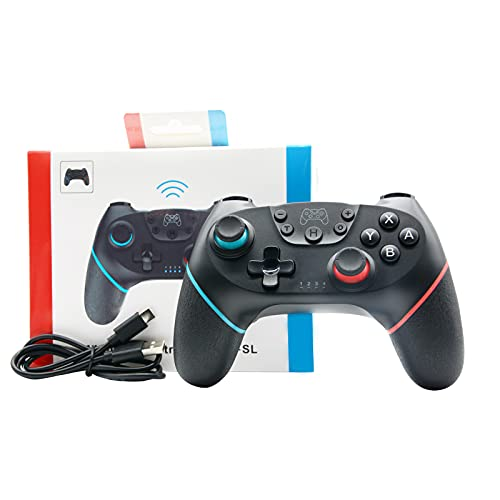 Bluetooth Wireless Pro Controller for Nintendo Switch Controllers Joystick Controller for Switch Controllers with Dual Vibrations and Motion Sensors