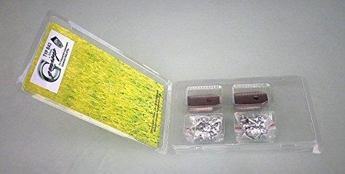 genisys ***60 Messer (0,75mm) & Schrauben für Husqvarna Automower & Gardena R40Li/R70Li in praktischer Aufbewahrungsbox